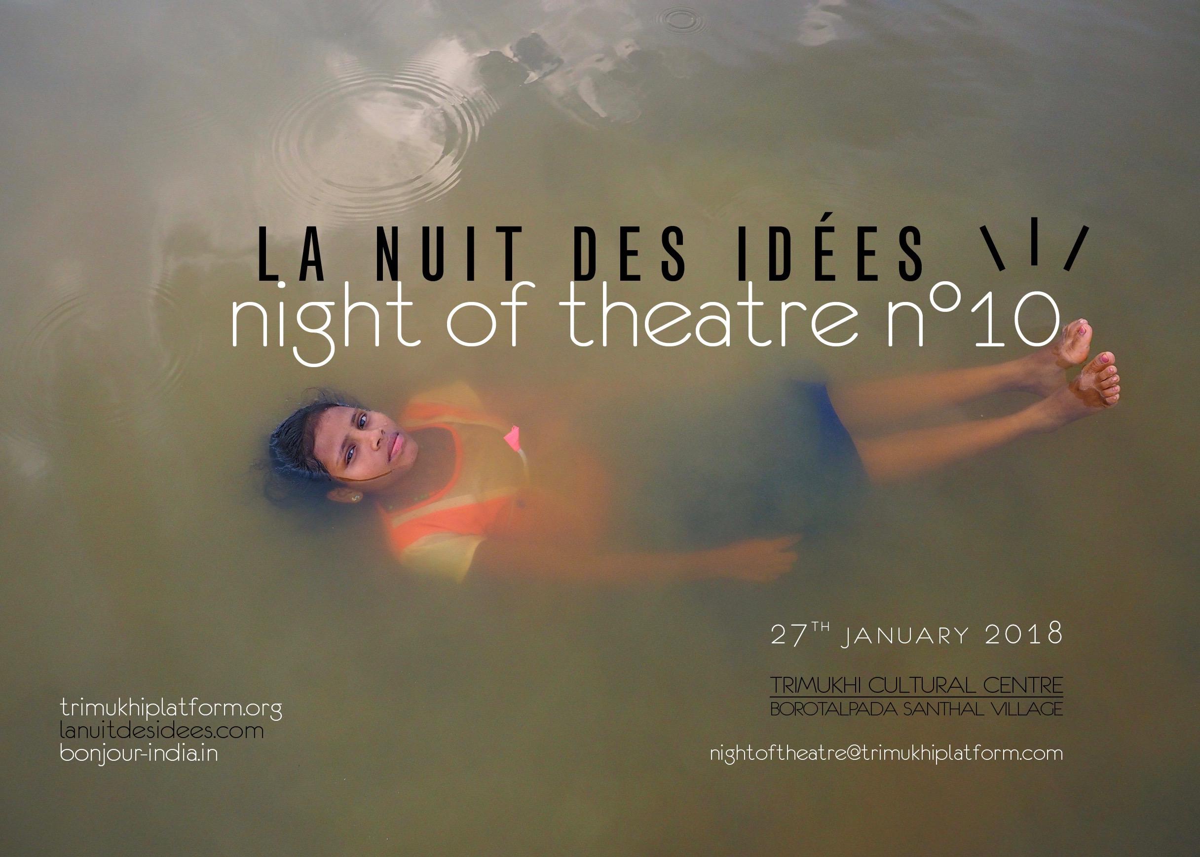 Night of Theatre n°9 • La Nuit des idées