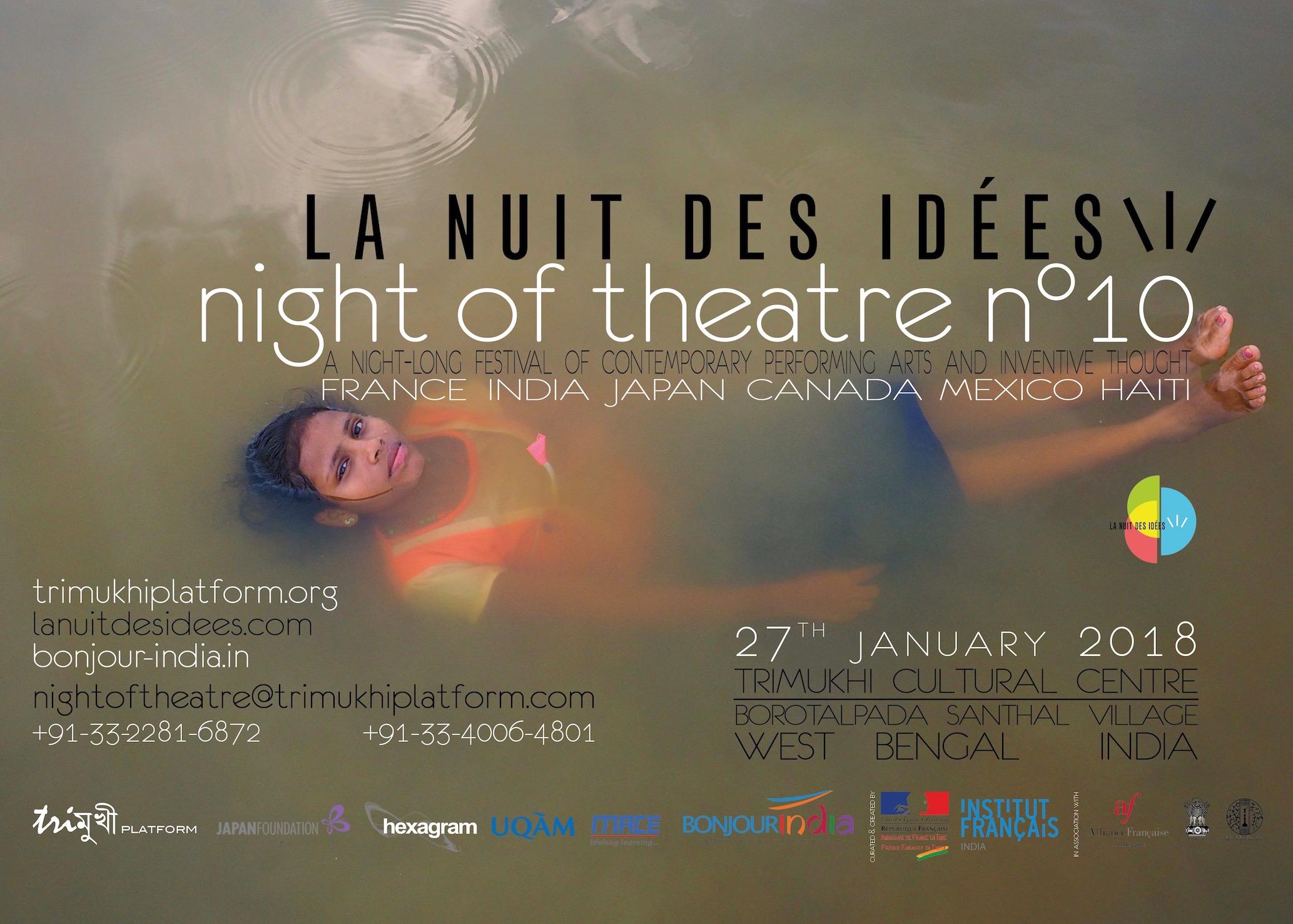 Nuit du Théâtre n°10 • La Nuit des Idées